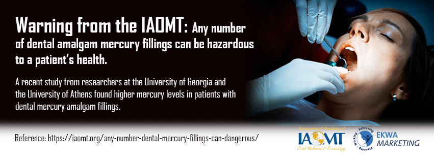 IAOMT Infographics March - 3, Dr. Scott Stewart DDS, South Lakewood Dental