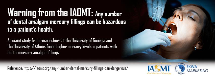 IAOMT Infographics March - 3, Dr. Scott Stewart DDS, South Lakewood Dental