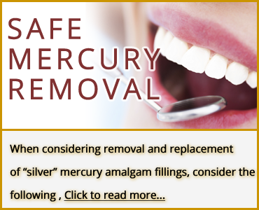 Mercury-Safe Dentistry banner
