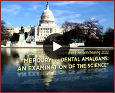 Mercury-Safe Dentistry - Footage on mercury vapors generated during routine dental procedures